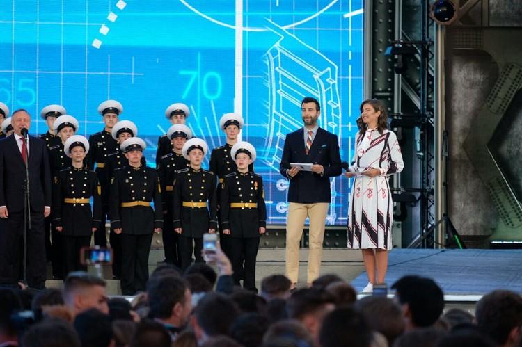 Вели Алые паруса 2019 Иван Ургант и Даша Александрова.