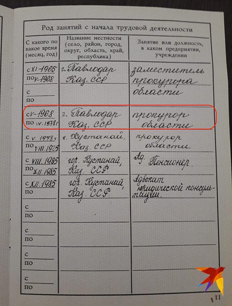 Лев Иванов был прокурором Павлодарской области до 1978 года. Фото - архив фонда памяти группы Дятлова