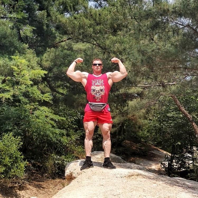 Спортсмен признается, что чувствует себя в своей форме просто отлично