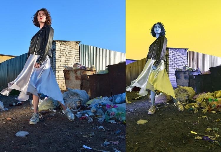 Концептуальная фотосессия модели на кучах мусора, организованная «Петрушкой», вдруг вызвала экодвижение из местных активистов, которые теперь каждую неделю проводят субботники
