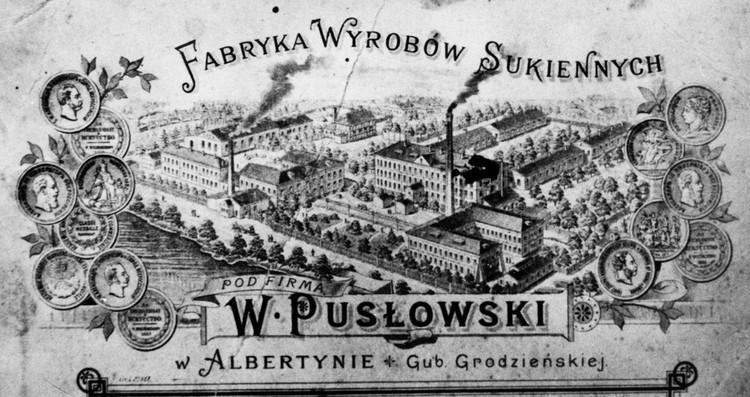 Эта этикетка показывает масштабы суконной фабрики Пусловских. Фото: Архив Сергея ЧИГРИНА