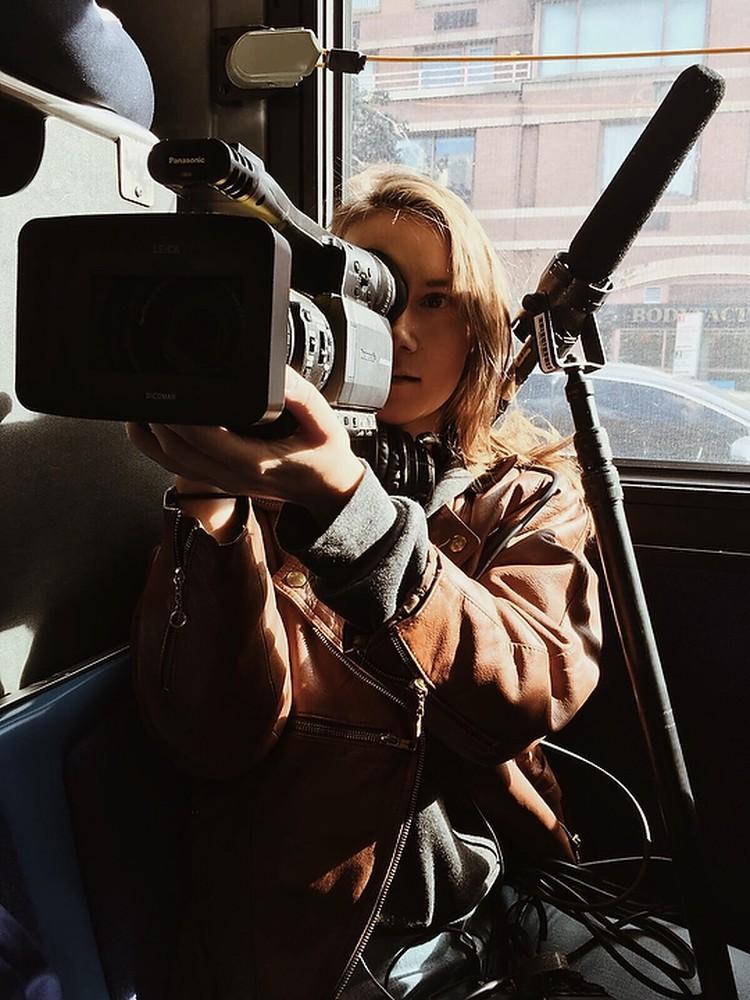 Ника хотела стать военным корреспондентом и снимать истории в горячих точках.