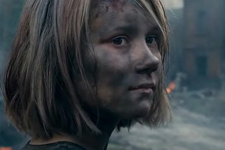 """Актриса Ника Никонова. Фото: кадр из фильма """"Брестская крепость"""""""