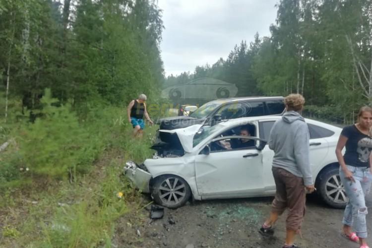 В ДТП пострадали три человека. Фото: группа «Регион-74 | Челябинск»/vk.com