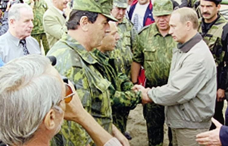 1999 год. Приезд Владимира Путина в Дагестан