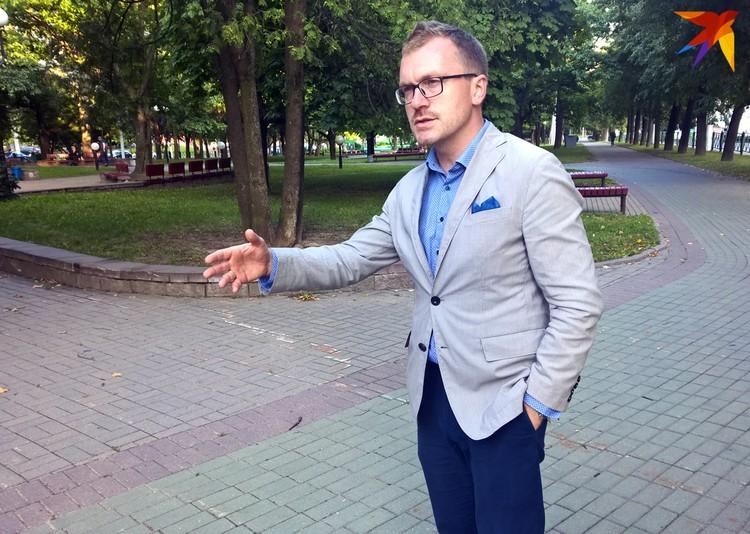 Историк Антон Денисов является потомком одного из архитекторов выставки.