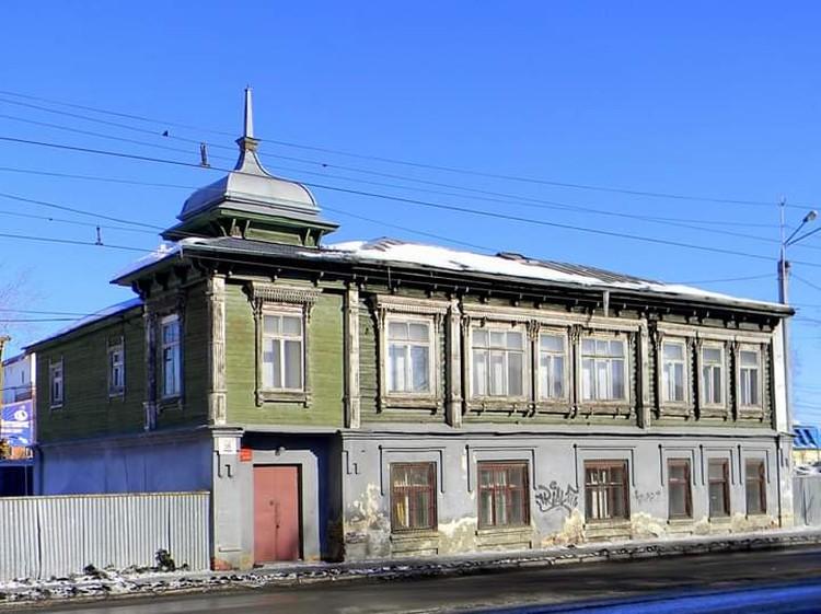 Так дом выглядел до начала реконструкции. Фото: Юрий Латышев