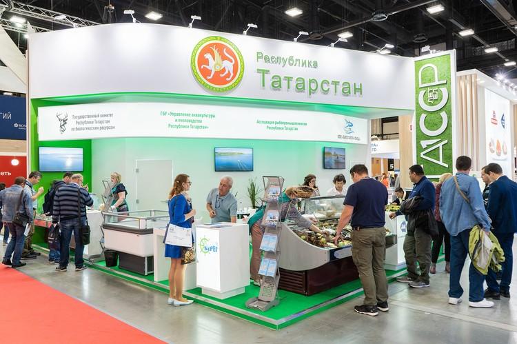 На выставке были представлены рыбные регионы России. Автор фото: Expo Solutions Group