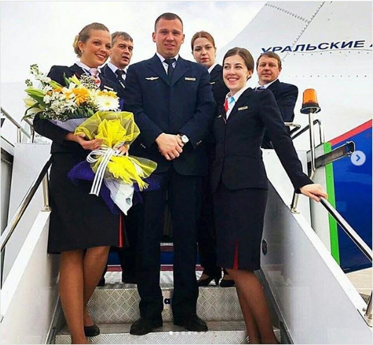 Команда, которая спасла пассажиров рейса U6178