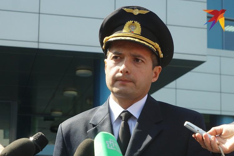 Командир самолета Airbus А321 Дамир Юсупов.