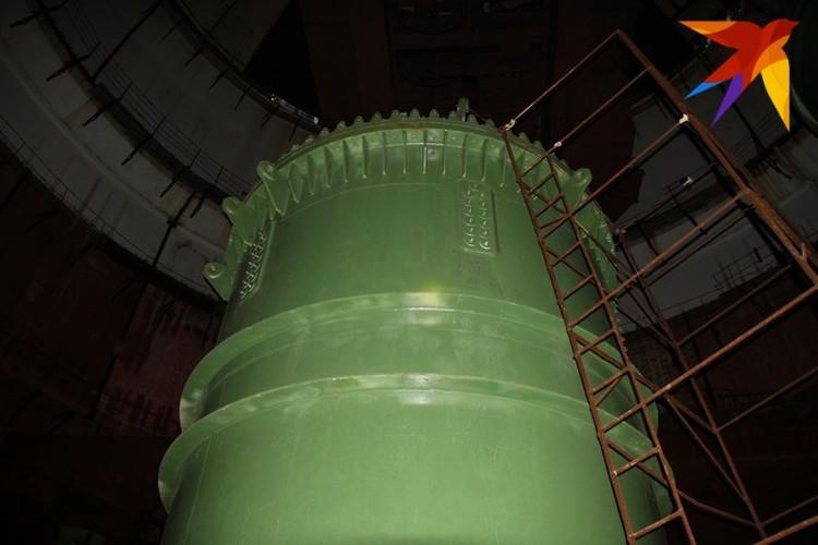 Корпус реактора - сердце атомной станции, которое никогда не билось.