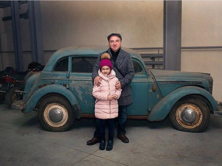 """Так машина выглядела до реставрации. Фото: Instagram/""""Чайф"""""""