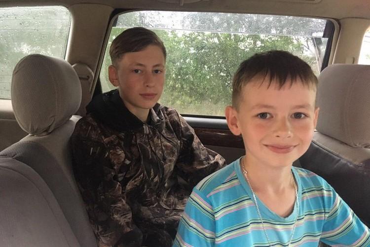 Отец строго настрого наказал сыновьям держатся вместе. Фото: пресс-служба полиции Ачинска