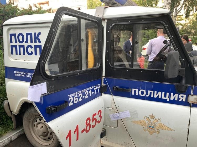 На время следствия машину опечатали. Фото: СУ СКР по Свердловской области
