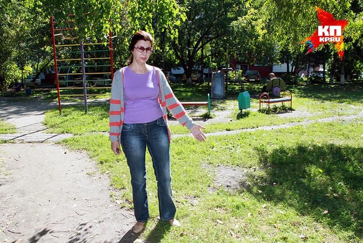 Александра Строганова на месте преступления