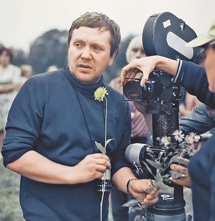 Конец 70-х. Режиссер на съемках драмы «Спасатель».