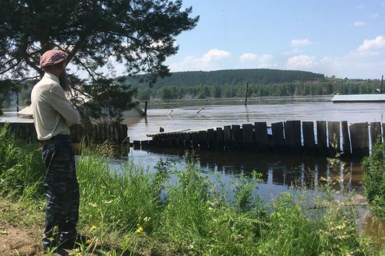 Июль 2019 года. Затопленный Тулун. Фото: Николай ТЕКАЛОВ