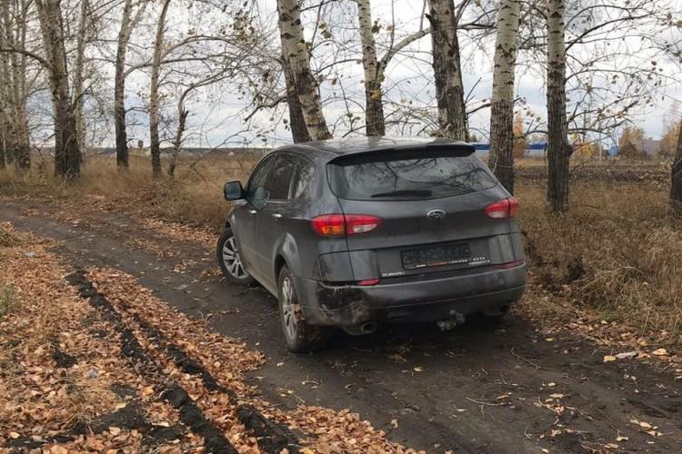 Машина убитого Михаила Седова.