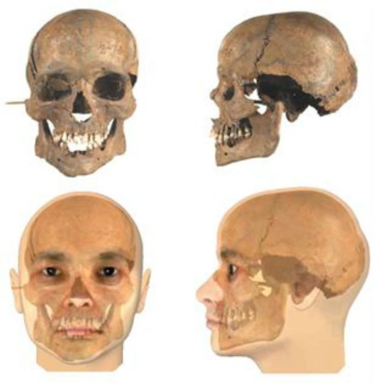 Вот так, по предположению специалистов, мог выглядеть один из погибших. Фото: archaeolog.ru