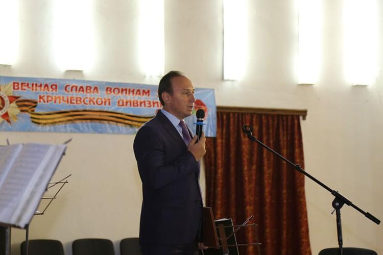 Награду участникам освобождения Беларуси от немецко-фашистских захватчиков вручил Андрей Страчко.