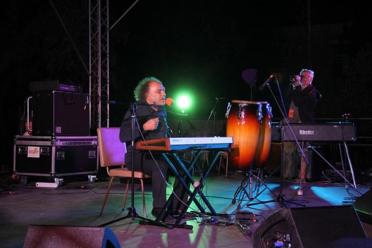Сергей Манукян порадовал поклонников своим талантом. Фото: пресс-служба фестиваля «Live in Blue Bay»