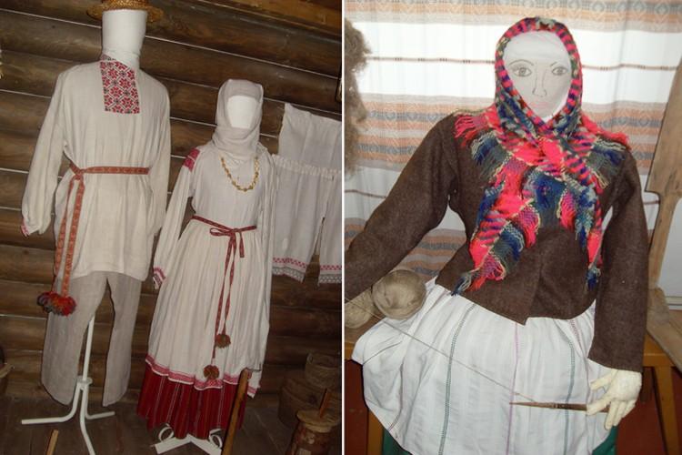 Сегодня традиционные костюмы чаще можно увидеть в музеях - например, в Кличеве или деревне Бездеж Дрогичинского района. Фото: Татьяна КУХАРОНАК