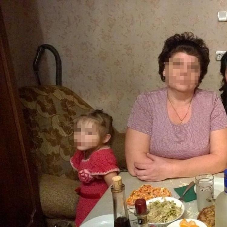 Наталья Желендинова - новая мама Оли. Фото: личный архив.