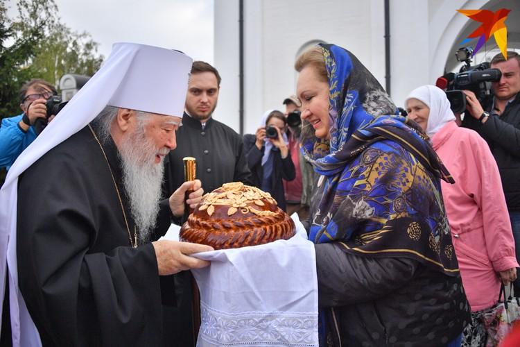 Перед началом крестного хода. Больше фото - в фоторепортаже kp.ru