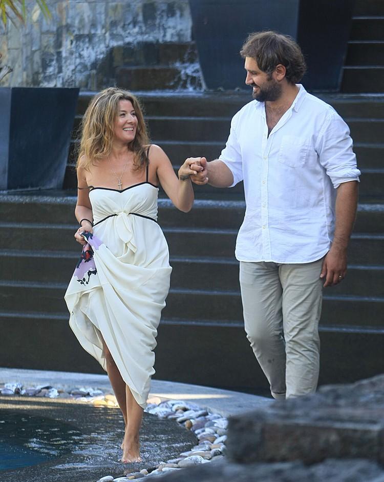 Жанна с мужем
