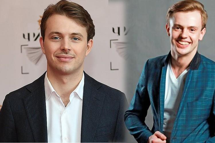 Слева - сын Андрей Удалов, справа - муж Андрей Сорока. Парни похожи, как две капли воды:роскошная светлая шевелюра, по-кукольному красивые лица