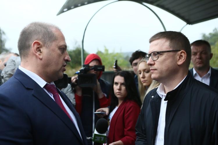 После визита главы региона Алексея Текслера Жилин подал в отставку.