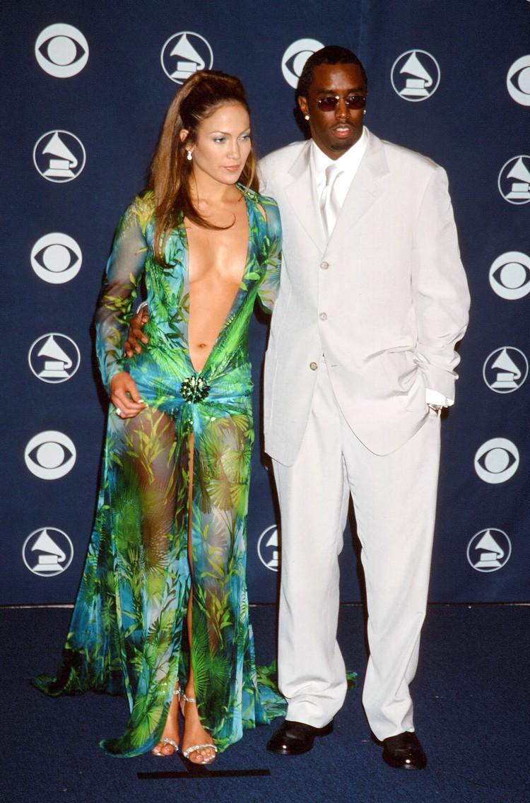 """С Паффом Дэдди Дженнифер Лопес встречалась с 1999 по 2001 год. Именно он сопровождал ее на церемонии """"Грэмми""""-2000."""
