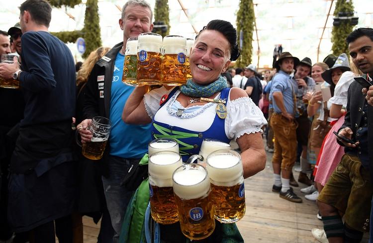 В среднем за кружку пива нужно заплатить около 11 евро