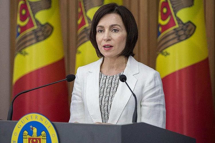 Премьер-министр Молдавии Майя Санду. Фото DUMITRU DORU / EPA / ТАСС