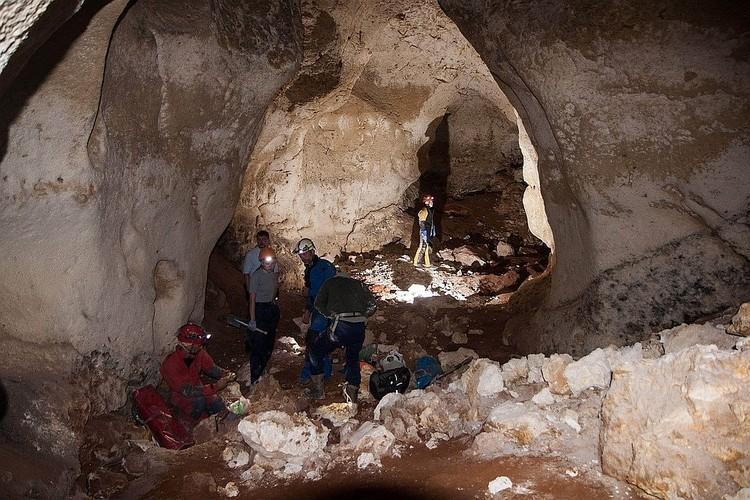Пещеру совсем недавно открыли. Фото: пресс-служба КФУ