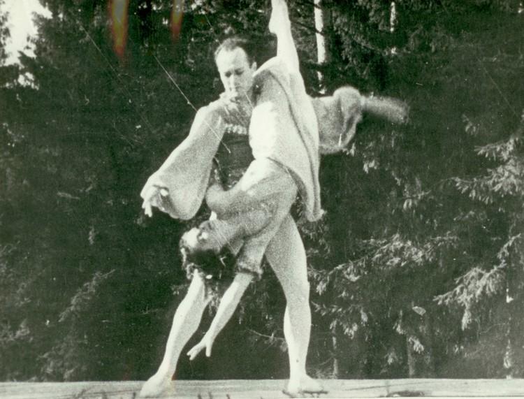 Гербек и Сахновская. Фото: Государственный музей обороны и блокады Ленинграда