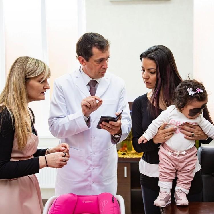Мама девочки благодарна врачам за теплый прием. Фото: luna.love.hope