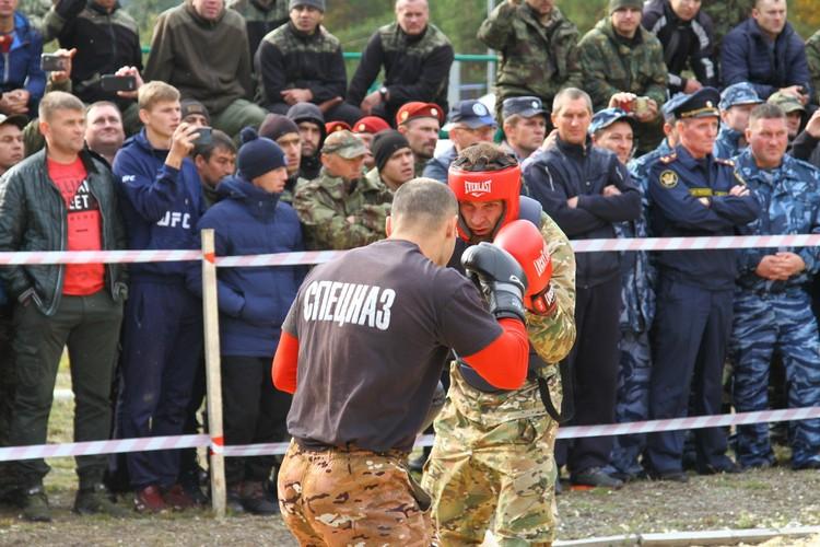 За краповый берет приходилось буквально драться. Фото: УФСИН России по Республике Мордовия