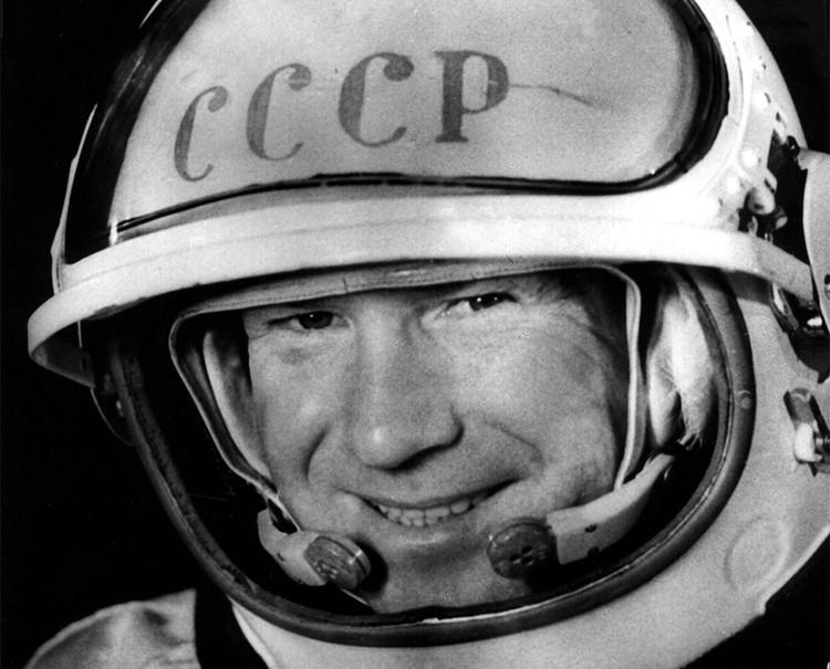 Космонавт Алексей Леонов.