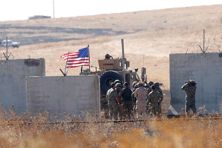 Cилы американцев до сих пор остаются на линии Тель-Абьяд — Рас-аль-Аун, так что говорить о полном их уходе пока рано