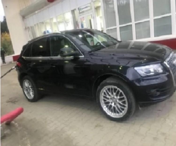 Машина из-за которой цыгане убили Ксению. Они продали Audi за 500 тысяч рублей. Фото: СОЦСЕТИ