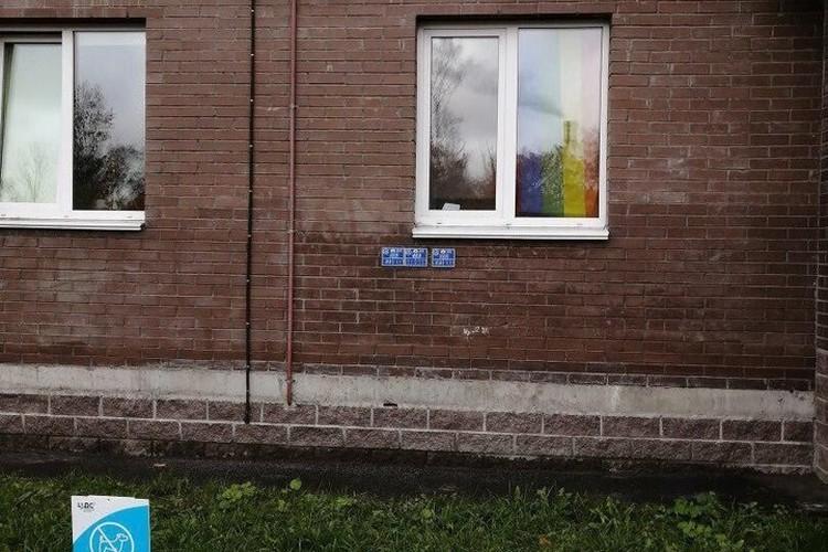 """Та самая штора крупным планом. Если после просмотра этого фото вы чувствуете себя оскорбленным - дайте знать. Фото: сообщество """"ЖК Кантемировский, ЖК Калина Парк, ЖК Калейдоскоп"""" ВКонтакте"""