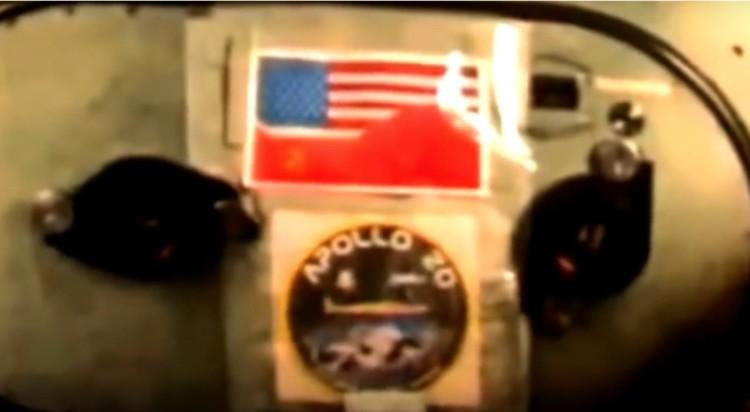 """Внутри """"Аполлона-20"""": антураж очень достоверный."""