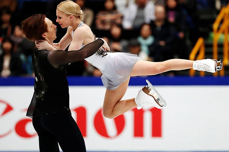 В прошлом году Евгения Тарасова и Владимир Морозов заняли третье место в финале Гран-при