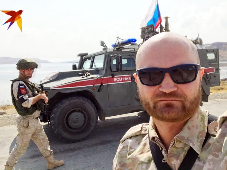 Наш спецкор Александр Коц передает с севера Сирии