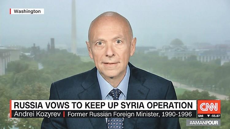 Обитатель города Майами Андрей Козырев разразился на днях критикой в адрес России в эфире американского телеканала CNN. Фото: youtube.com/CNN