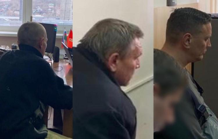 Допрос задержанных Фото: Следственный комитет РФ по Красноярскому краю и Республики Хакасия
