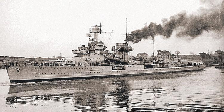 Легкий крейсер «Нюрнберг» перешел к нам по репарациям в январе 1946 года и 13 лет нес службу в ВМФ СССР как «Адмирал Макаров».