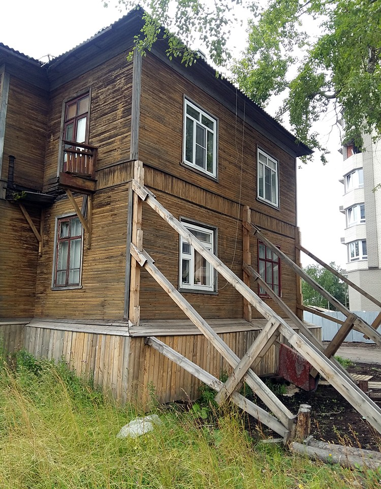 Ветхих домов стало больше