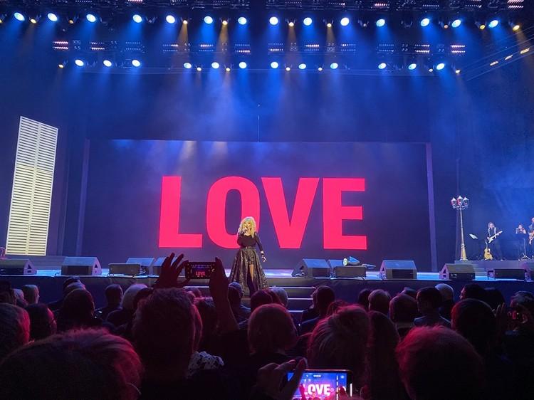 Певица не раз признавалась зрителям в любви. Фото: соцсети